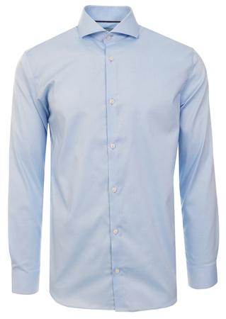 Jack & Jones Blue / Cashmere Blue Slim Fit Shirt  - Click to view a larger image