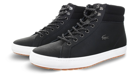 Lacoste Black Straightset Insulac Boots  - Click to view a larger image