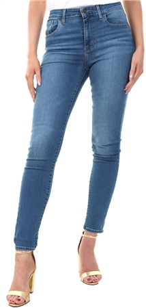Levi's Dust In The Wind  - Light Indigo 721™ High Waisted Skinny Jeans  - Click to view a larger image