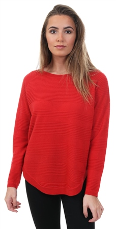 Only High Risk Red Caviar Knit Crew Pullover  - Click to view a larger image