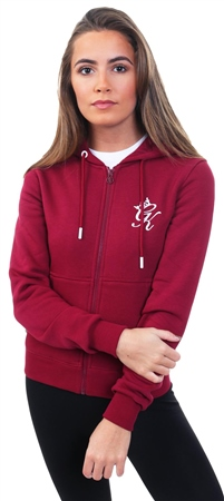 Gym King Raspberry Jenner Zip Through Hoodie  - Click to view a larger image