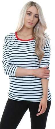 Only Red Cloud Dancer Elcos Stripe Top  - Click to view a larger image