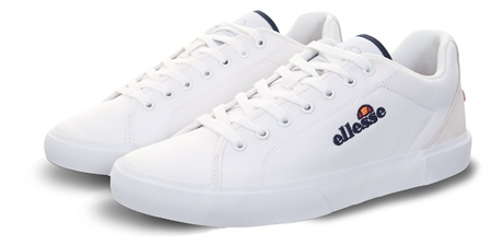 Ellesse White Taggia Panel Lace Up Trainer  - Click to view a larger image