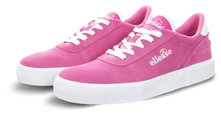 Ellesse Pink Alto Suede Lace Up Trainer  - Click to view a larger image