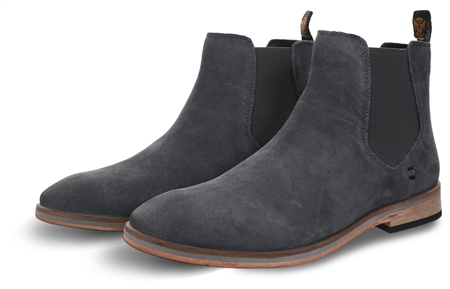 Superdry Dark Grey Meteora Chelsea Boot  - Click to view a larger image