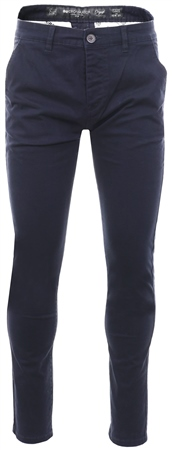 Crosshatch Navy Night Sky Fitted Chino  - Click to view a larger image
