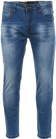 Crosshatch Lightwash Robert Skinny Fitted Jean  - Click to view a larger image