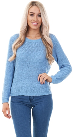 Only Alure Genna Knit Long Sleeve Jumper  - Click to view a larger image