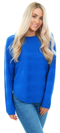 Only Blue Caviar Knit Crew Pullover Top  - Click to view a larger image