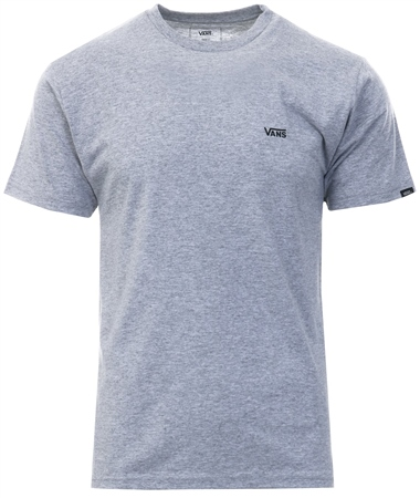 Vans Athletic Heather Left Chest Logo T-Shirt  - Click to view a larger image