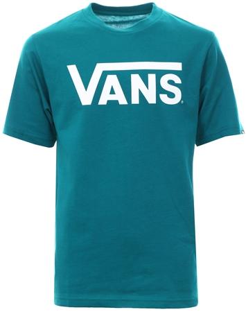 d2df7642c3 Vans Turquoise Classic Short Sleeve T-Shirt