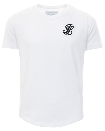 Illusive White S/S Taped Raglan Gym Tee  - Click to view a larger image