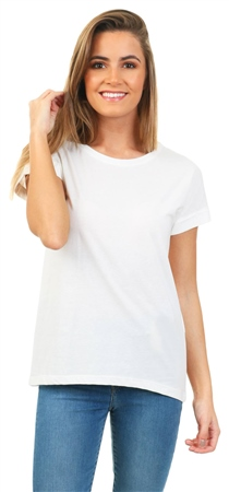 Jdy Cloud Dancer Louisa Short Sleeve Top  - Click to view a larger image