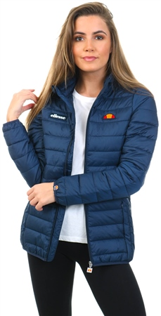 Ellesse Navy Lompard Padded Jacket  - Click to view a larger image