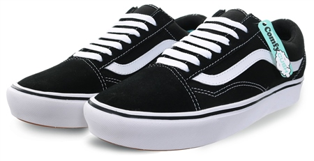 Vans Black (Womens) Comfycush Old Skool Trainer  - Click to view a larger image