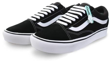 734976e640 Vans Black (Mens) Comfy Cush Old Skool Trainers
