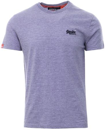 Superdry Lilac Orange Label Vintage T-Shirt  - Click to view a larger image