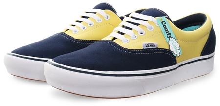 53b27503a0 Vans Blue Comfy Cash Era Authentic Shoes