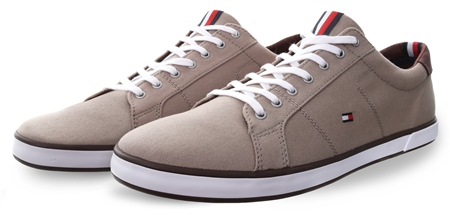 Hilfiger Denim Cobblestone Sustainable Trainers  - Click to view a larger image
