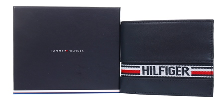 Hilfiger Denim Navy Tape Small Card Wallet  - Click to view a larger image