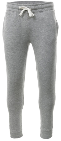 Jack Wills Grey Marl Haydor Cuffed Sweatpant  - Click to view a larger image
