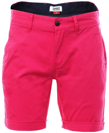 Hilfiger Denim Fuschia Purple Lightweight Shorts Chino Shorts  - Click to view a larger image