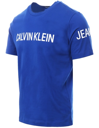 Calvin Klein Surf The Web Logo Short Sleeve T-Shirt  - Click to view a larger image