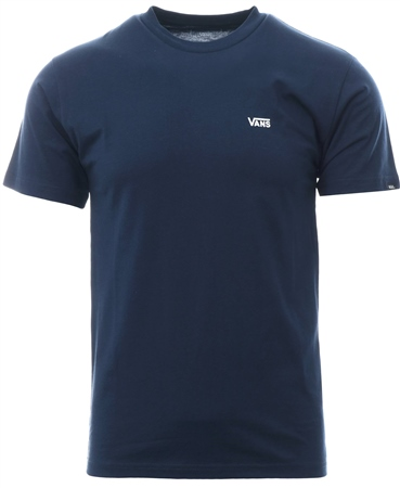 327522d8 Vans Navy Left Chest Logo T-Shirt | | Shop the latest fashion online ...