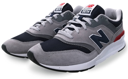 New Balance Team Away Grey Grey 997h Lace Up Trainer  - Click to view a larger image
