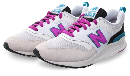 New Balance Sea Salt 997h Lace Up Trainer  - Click to view a larger image