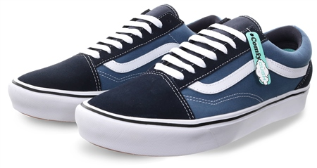 Vans Navy/St Navy (Mens) Comfy Cush Lace Up Trainer  - Click to view a larger image