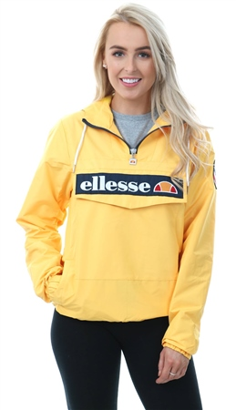 Ellesse Yellow Mont 1/4 Zip Up Jacket  - Click to view a larger image
