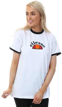 Ellesse White Rosabella Short Sleeve T-Shirt  - Click to view a larger image