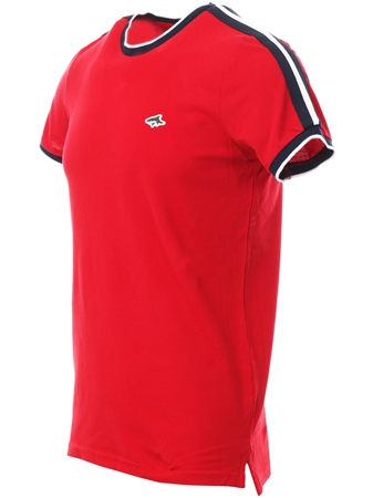Le Shark Barados Cherry T-Shirt With Sleeve Panels  - Click to view a larger image