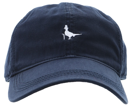 Jack Wills Navy Enfield Pheasant Logo Cap  - Click to view a larger image