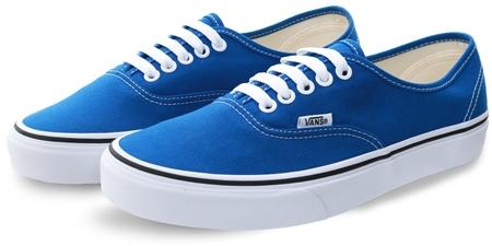Vans Lapis Blue/True White Authentic Shoes  - Click to view a larger image