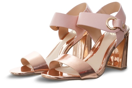 Dv8 Rose Gold Marla High Heel Panel Shoe  - Click to view a larger image
