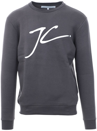 Jameson Carter Carbon Grey Carbon Large Jumper  - Click to view a larger image
