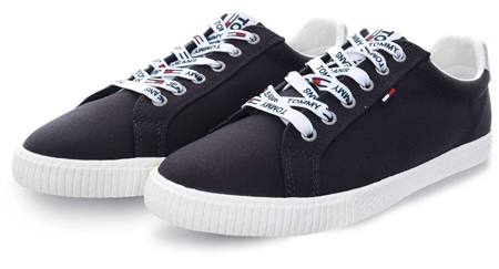 Tommy Jeans Midnight Casual Lace Up Sneaker  - Click to view a larger image