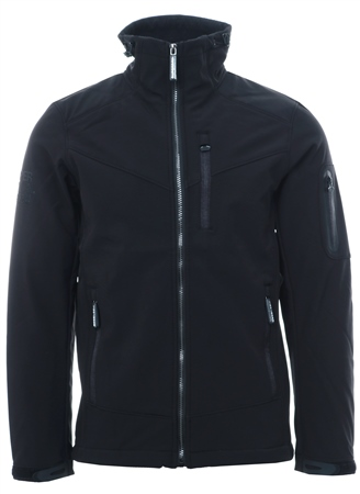 Superdry Black Paralex Windtrekker Jacket  - Click to view a larger image