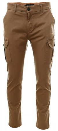 Threadbare Camel Fraser Chino Pocket Trouser  - Click to view a larger image