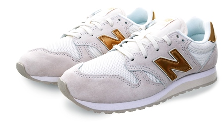 New Balance White 520 Lace Up Trainer  - Click to view a larger image