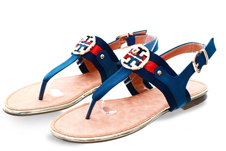 Zanni Navy New Kirk One Sandal  - Click to view a larger image