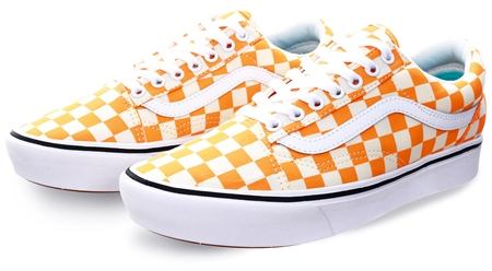 Vans Zinnia Checker Comfycush Shoes  - Click to view a larger image