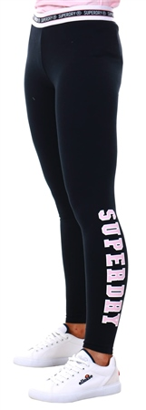 Superdry Eclipse Navy Printed Alicia Leggings  - Click to view a larger image
