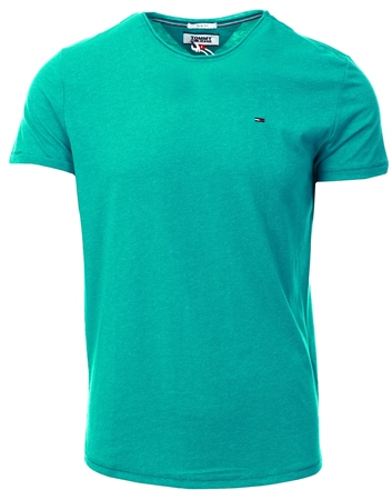 Hilfiger Denim Dynasty Green Regular Jaspe T-Shirt  - Click to view a larger image