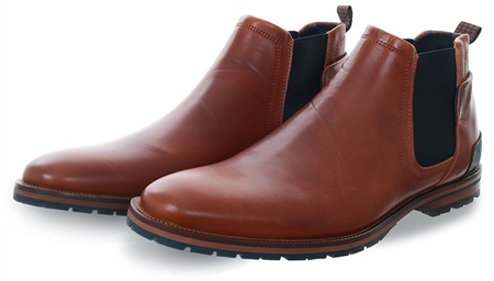 Bull Boxer Tan Conagn Chelsea Boot  - Click to view a larger image