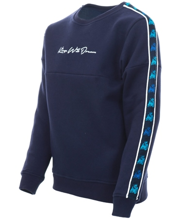 Kings Will Dream Navy Kwd Junior Maddiston Sweatshirt  - Click to view a larger image