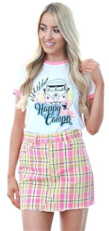 32bad3e0df54de Brave Soul White/Coral Surfs Up T-Shirt | | Shop the latest fashion ...