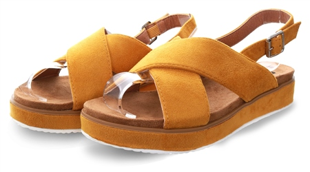Refresh Panama Open Toe Cross Over Sandal  - Click to view a larger image